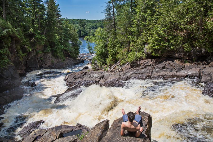 Ragged Falls 3